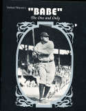 babe Ruth the one and only Delmar Watson's 28 pages