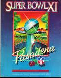 Superbowl 11 XI football program Raiders vs Vikings bxsb