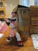 1961 Ted Williams Red Sox original Hartland statue, tag and box