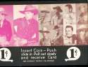 Exhibit Card 1 cent display Western cowboys Danny Thomas