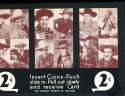 Exhibit Card 1 cent display cowboys Roy Rogers lone ranger