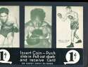 Exhibit Card 1 cent display 3 Boxing Beau Jack Ezzard Charles