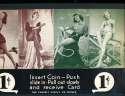 Exhibit Card 1 cent display model stars