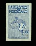 11/10 1923 Marines vs Michigan Football Program National Champions!