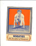 1935 Wheaties  Jack Armstrong Track with panel card