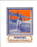 1935 Wheaties card Elinor Smith Pilot with panel