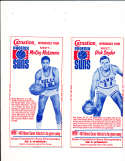 1968 Carnation Milk Phoenix suns Dick snyder Basketball card