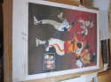 1987 Nolan ryan Signed Print The Express by Christopher Paluso 86/383