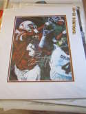 Roy Williams University of Texas Signed Print