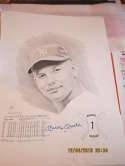 Mickey Mantle signed Rookie Series 1 print David Cooney art 90/1000