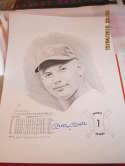 Mickey Mantle signed Rookie Series 1 print David Cooney art 93/1000