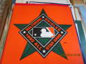 1993 All Star game Baltimore Orioles promo plastic poster  b2
