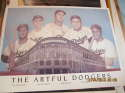 The Artful dodgers ebbets stadium Snider, Hodges, Robinson, Campy, Furrilo b3