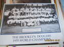 The Brooklyn dodgers 1955 world champions poster b3