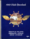 1969 Seattle Pilots Baseball yearbook em