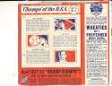 1940 Wheaties full box Joe Dimaggio Champs of the usa #2 mel ott