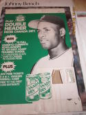 Roberto clemente Canada Dry Production promotional cardboard display 1970's - 80's  28 x18