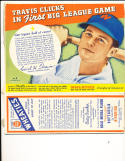 1938 Wheaties full box series 10  Travis Clicks Washington nationals