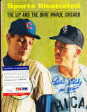 1966 Eddie Stanky White Sox newsstand Sports illustrated psa/dna