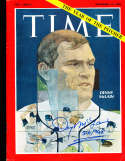 1968 Denny McLain Tigers Signed Newsstand Time Magazine psa/dna