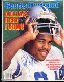 1986 8/18 Herschel Walker Cowboys Sports illustrated psa/dna
