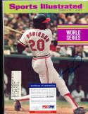 1971 Frank Robinson Orioles Sports illustrated psa/dna