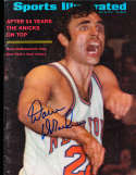 1970 Dave DeBusschere Knicks newsstand Sports illustrated psa/dna
