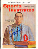 1962 1/8 Jerry Lucas Ohio State newsstand Sports illustrated psa/dna