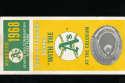 1968 Oakland A's Athletics season ticket order form