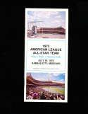 1973 All Star Baseball Press Media Guide