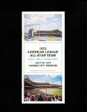 1973 All Star Baseball Press Media Guide #2