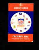 1972 World Series Cincinnati Reds  Baseball Press Media Guide