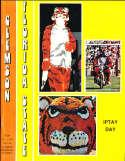 1975 11/1 Florida State vs Clemson  football Program