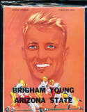 1954 9/24 Arizona vs BYU  football Program