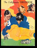 1934  St Mary's vs California  football Program