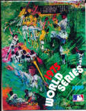 1975 World Series Program Reds