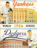 1956 World Series New York Yankees vs Brooklyn Dodgers em