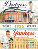 1956 World Series New York Yankees vs Brooklyn Dodgers nm