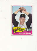 Joe gibbon Pirates #54 Signed 1965 topps card