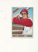 Rocky Colavito Indians #150 Signed 1966 topps card