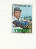 Zoilo versalles Twins #270 Signed 1967 topps card