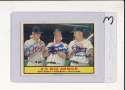 Siebern, Bauer, Lumpe A's #119 Signed 1961 Topps card