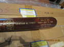 1946 HOF Brown Landis Commemorative Bat b56