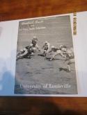 1953 Johnny Unitas University of Louisville FOOTBALL GUIDE box FBpre68