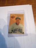 1954 Wilson Franks baseball card Stan Hack chicago Cubs vg (crease)
