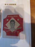 1953 Hank Sauer Chicago Cubs Bread for Energy Baseball Card ex-em