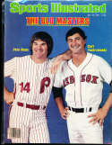 1982 7/19 pete rose carl Yastrzemski no label Sports Illustrated