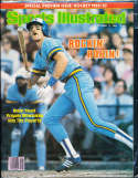 1982 10/11 Robin Yount Brewers no label newsstand Sports Illustrated