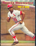 1974 7/22 Lou Brock Cardinals No label Sports Illustrated