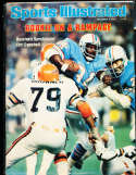 1978 12/4  Earl Campbell oilers newsstand no label Sports Illustrated